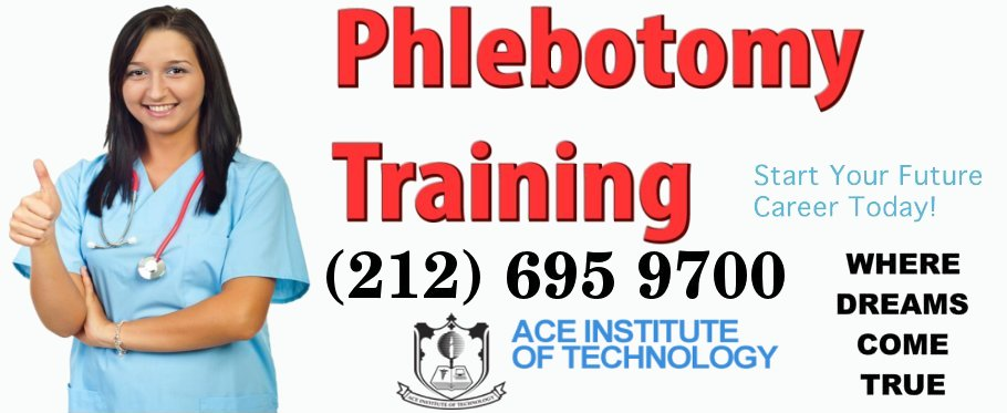 category ace career With free phlebotomy training nyc